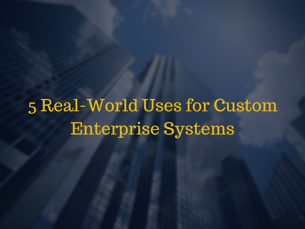 5 Real-World Uses for Custom Enterprise Systems