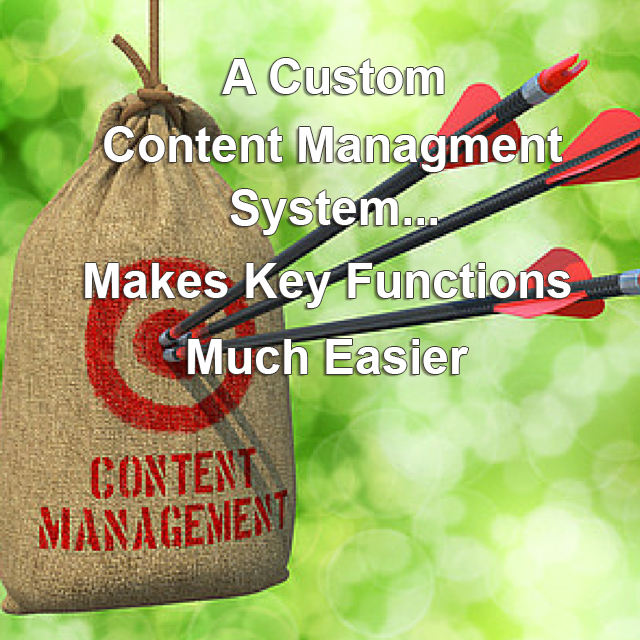 Blog webrevelation lately weve been sharing some of the benefits of custom content management systems first we looked at three specific functionalities that are easier to fandeluxe Choice Image