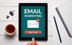 Email Marketing ipad