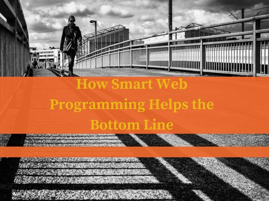How Smart Web Programming Helps the Bottom Line
