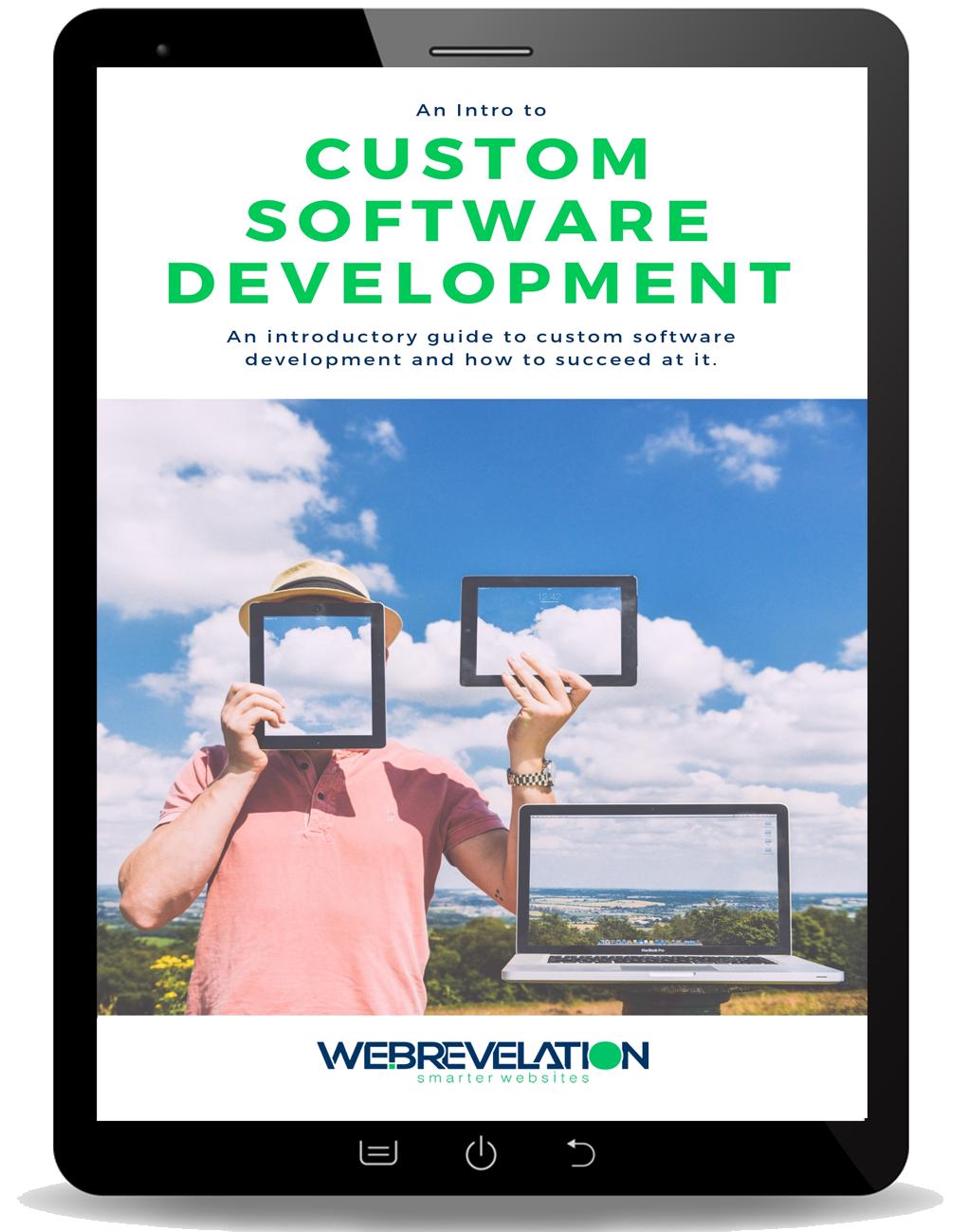 Free Ebook Intro to Custom Web Development Software