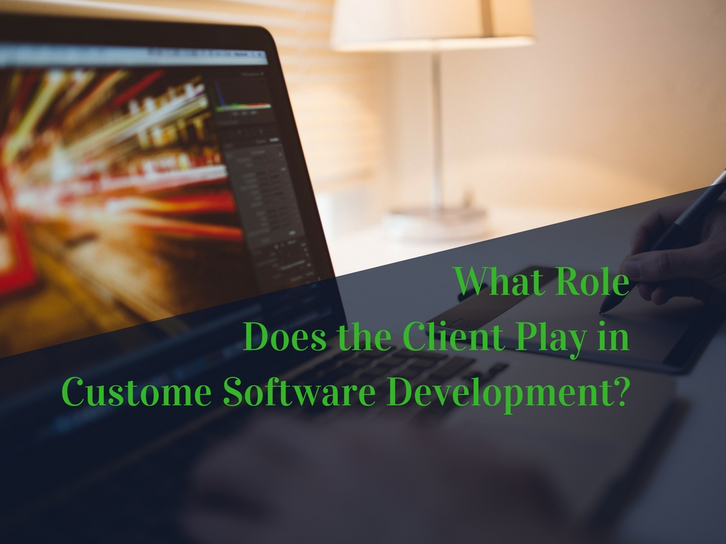 What Role Does the Client Play in Custom Software Development?