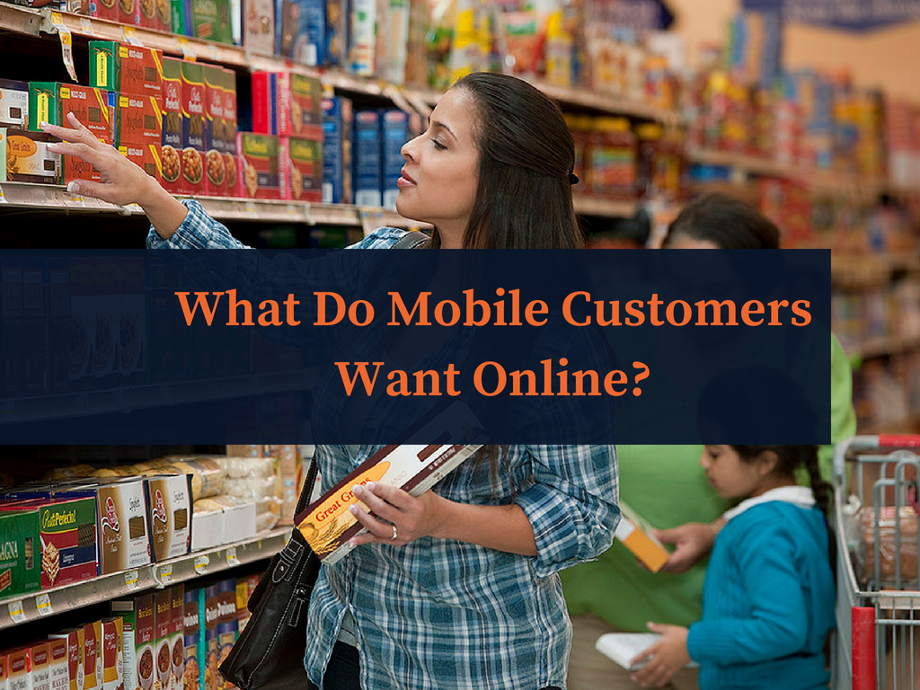 What Do Mobile Customers Want Online?
