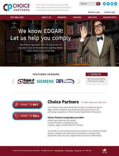 Choice Partners Website