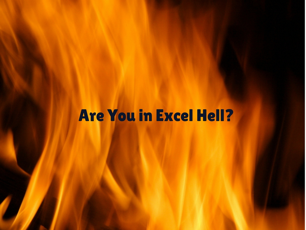 are you in excel hell