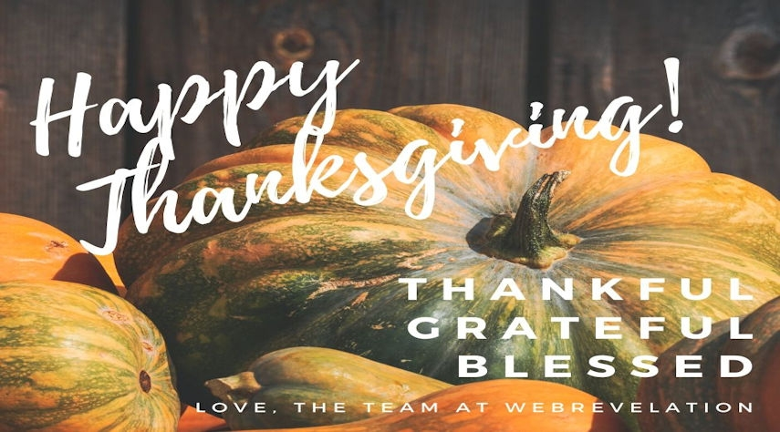 Wishing You a Very Happy Thanksgiving!