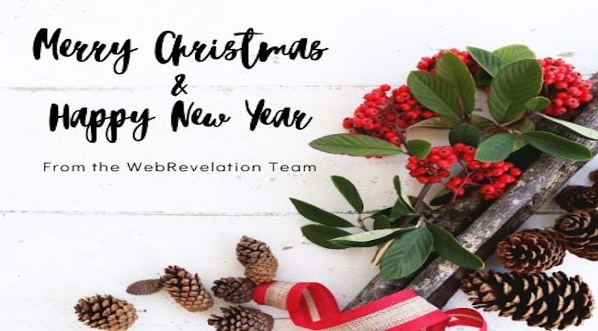 Merry Christmas from the WebRevelation Team!