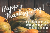 Related Blog - Wishing You a Very Happy Thanksgiving!
